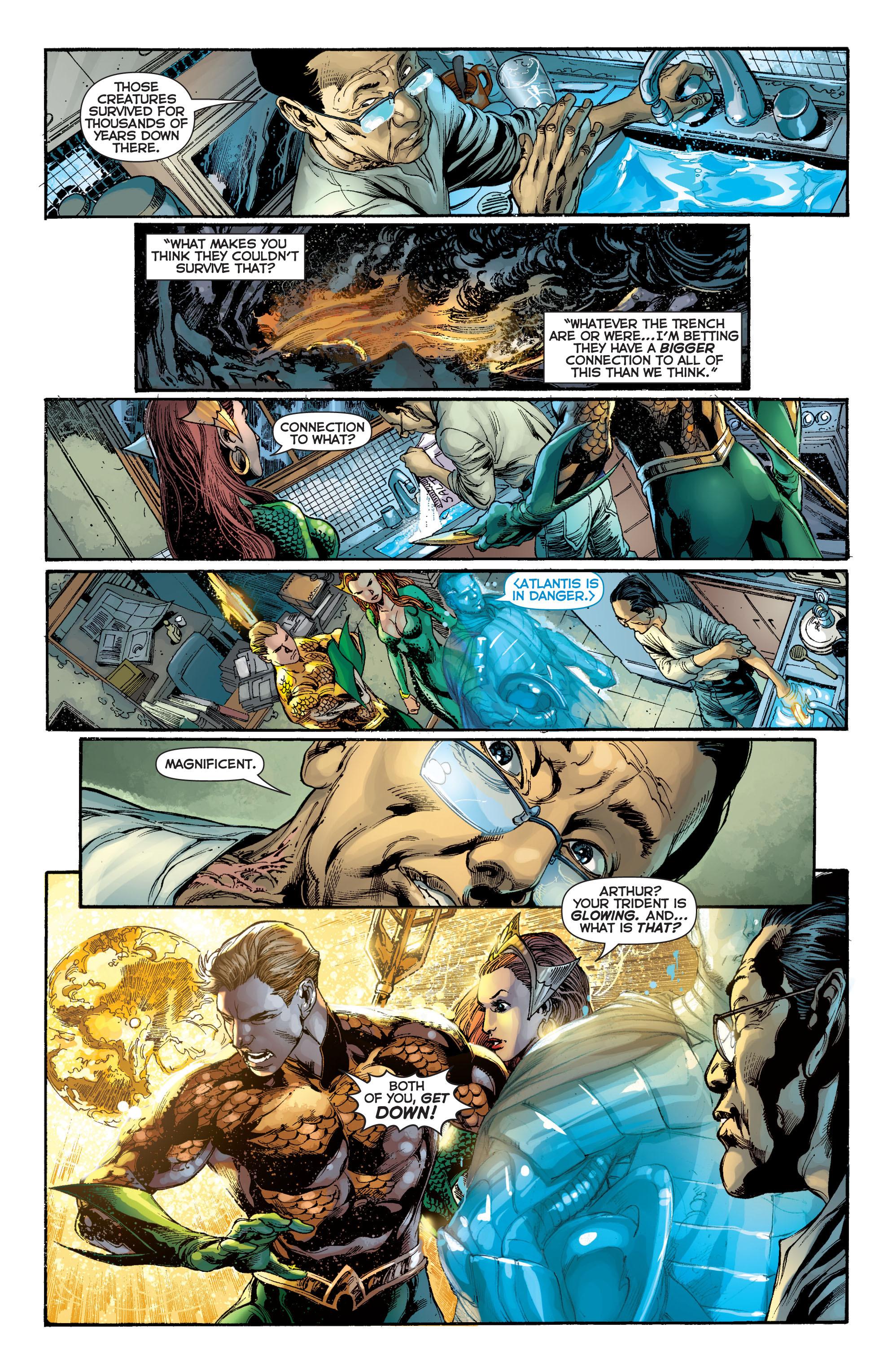 Read online Aquaman (2011) comic -  Issue #7 - 17