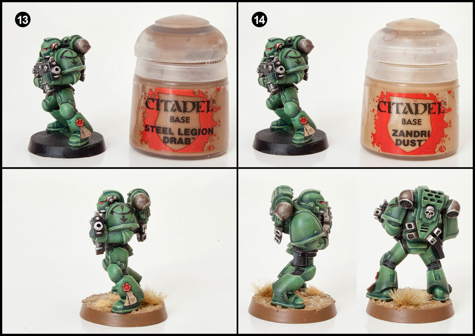 Tutorial: How to Paint Sons of Horus Space Marines - Tale ...