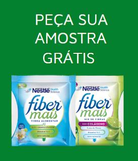 FiberMais Nestlé - amostra grátis