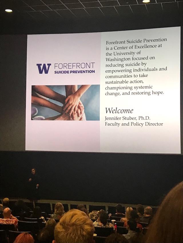 Forefront suicide prevention slide