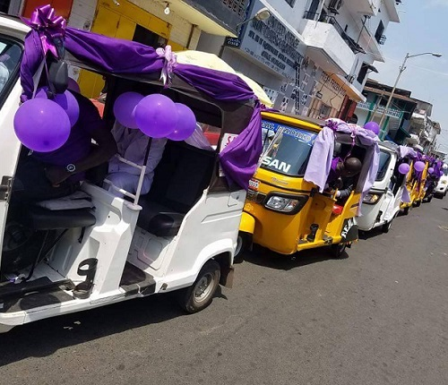 Couple Weds Using Keke Marwa Convoy In Glamourous Ceremony ...See Phototos