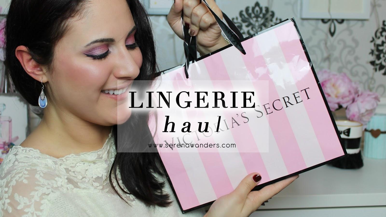 online in vendita ultima selezione del 2019 vendita calda online Serena Wanders: Lingerie Haul : Victoria's Secret, Undiz ...