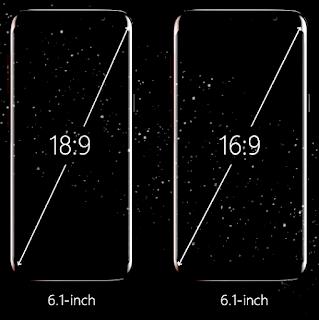 18:9 vs 16:9 display