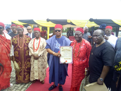 Willie Obiano Issues Certificates of Recognition to Two Traditional Rulers