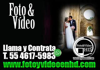 foto y video para bodas en azcapotzalco