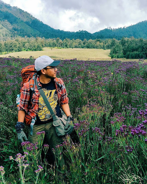 foto oro-oro ombo gunung semeru