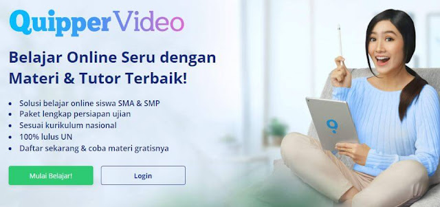 Situs Belajar Online untuk SMP