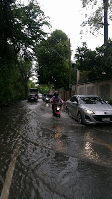バンコクの洪水