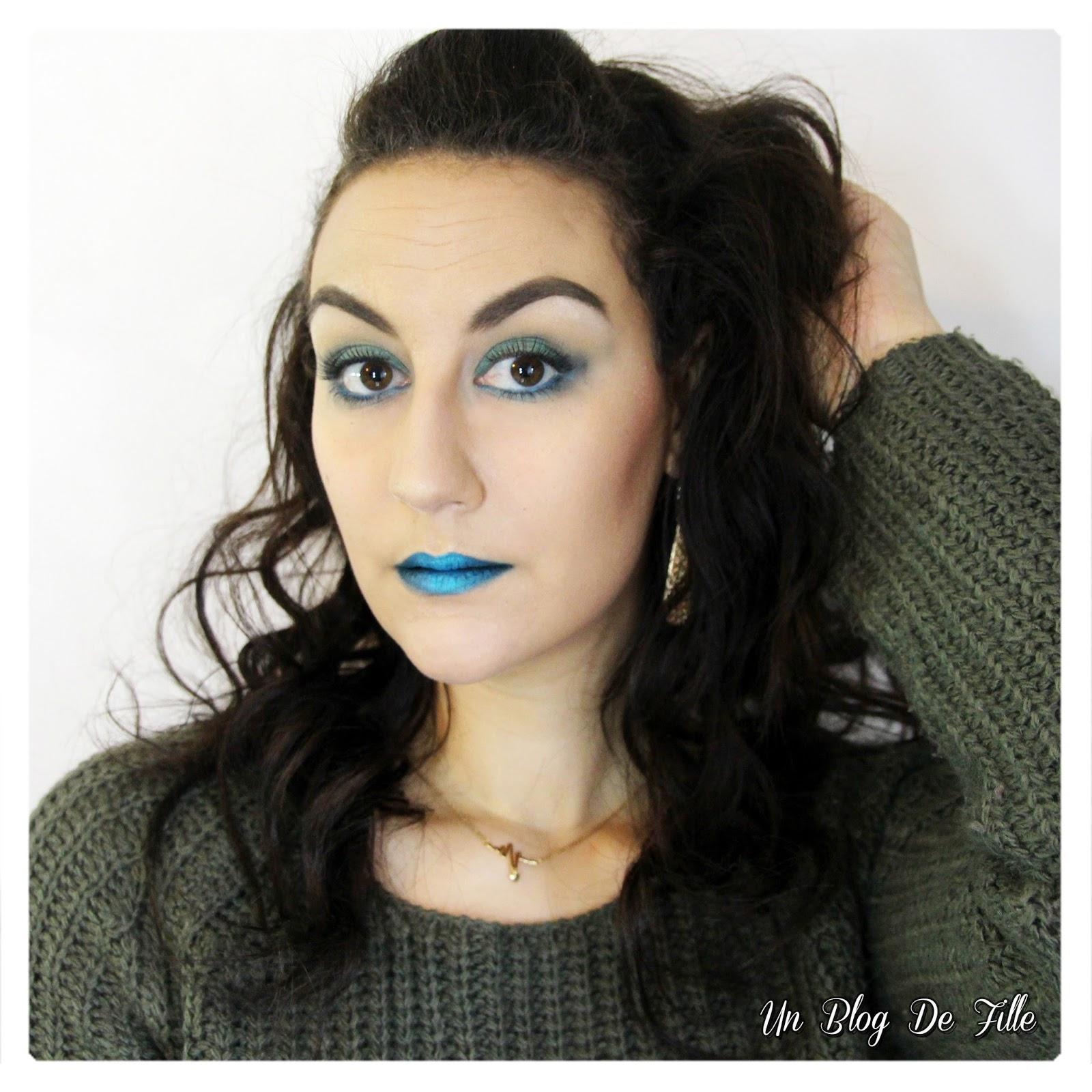 http://unblogdefille.blogspot.fr/2018/01/maquillage-vert-fonce-et-turquoise-msc.html