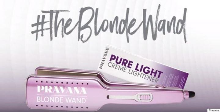 Chapinha que descolore o cabelo em segundos Blonde Wand