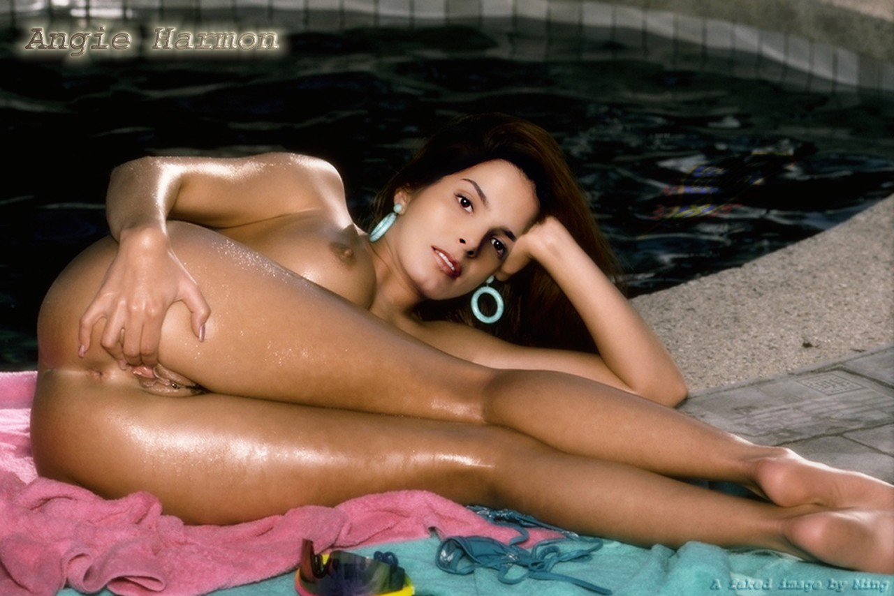The valuable Angie harmon naked cunt something