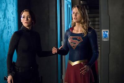 CW Supergirl 3x15 In Search of Lost Time Kara Alex Danvers sisters