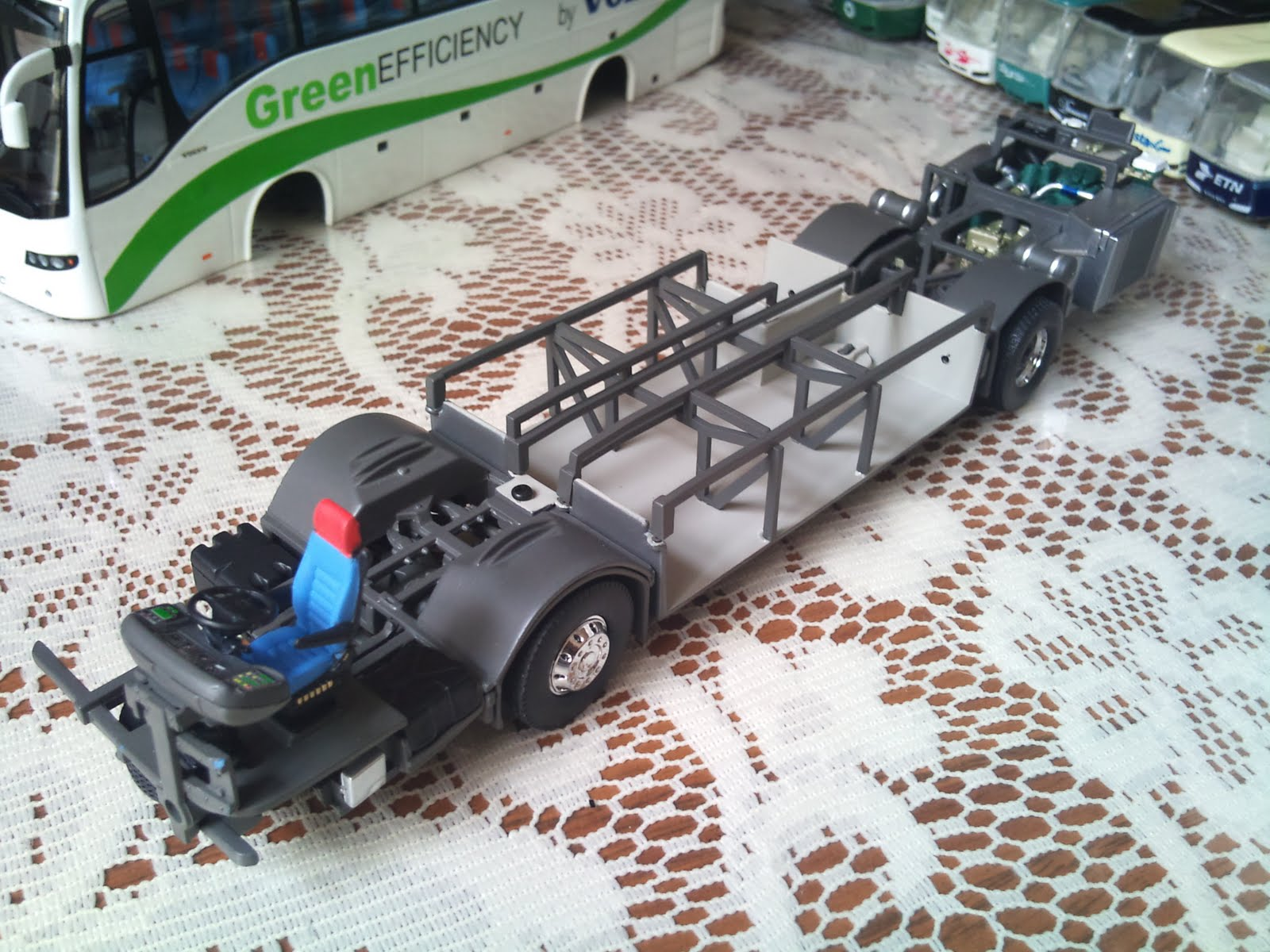 Movilbus autobuses a escala for Hacer planos a escala