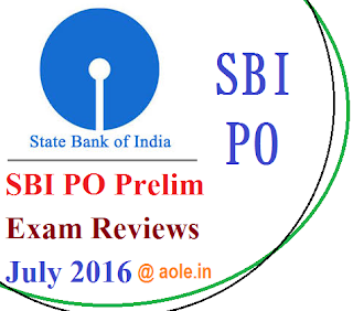 SBI PO Mains Asked Questions 31 July 2016: GK & GA Solved Paper