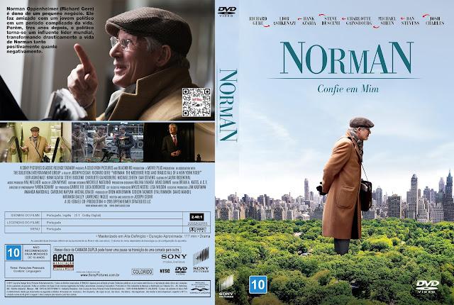 Capa DVD Norman: Confie em Mim [Custom]