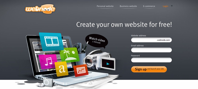 making your own free web site