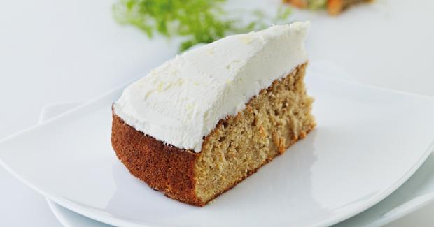 Carrot Cake With Lemon Mascarpone Topping...