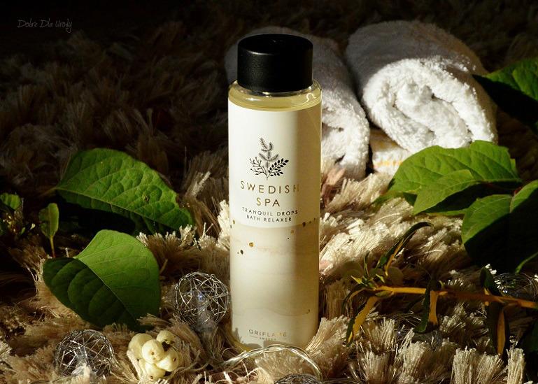 Oriflame Swedish Spa - Relaksujący olejek do kąpieli pielęgnacja ciała recenzja