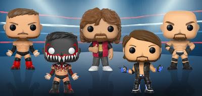 WWE Pop! Series 6 Vinyl Figures by Funko - Goldberg, Mick Foley, Finn Balor & AJ Styles