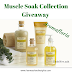 AromaFloria Muscle Soak Collection Giveaway & Gobble Till Ya Wobble Giveaway Hop