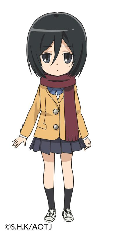 Mikasa Ackerman - projekt postaci