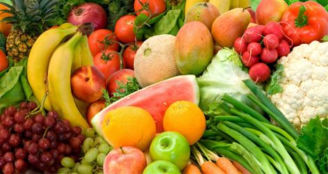 terapi buah dan sayur