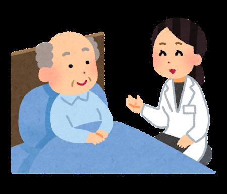 訪問看護・訪問介護のイラスト(女性)