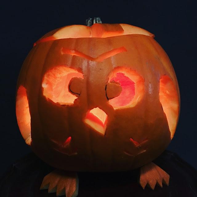 simple owl pumpkin carving tutorial