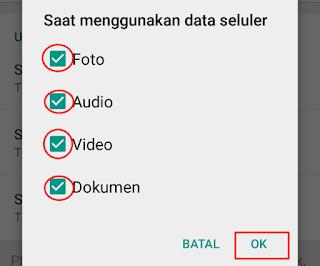 Cara Menghemat Kuota Pada WhatsApp 3