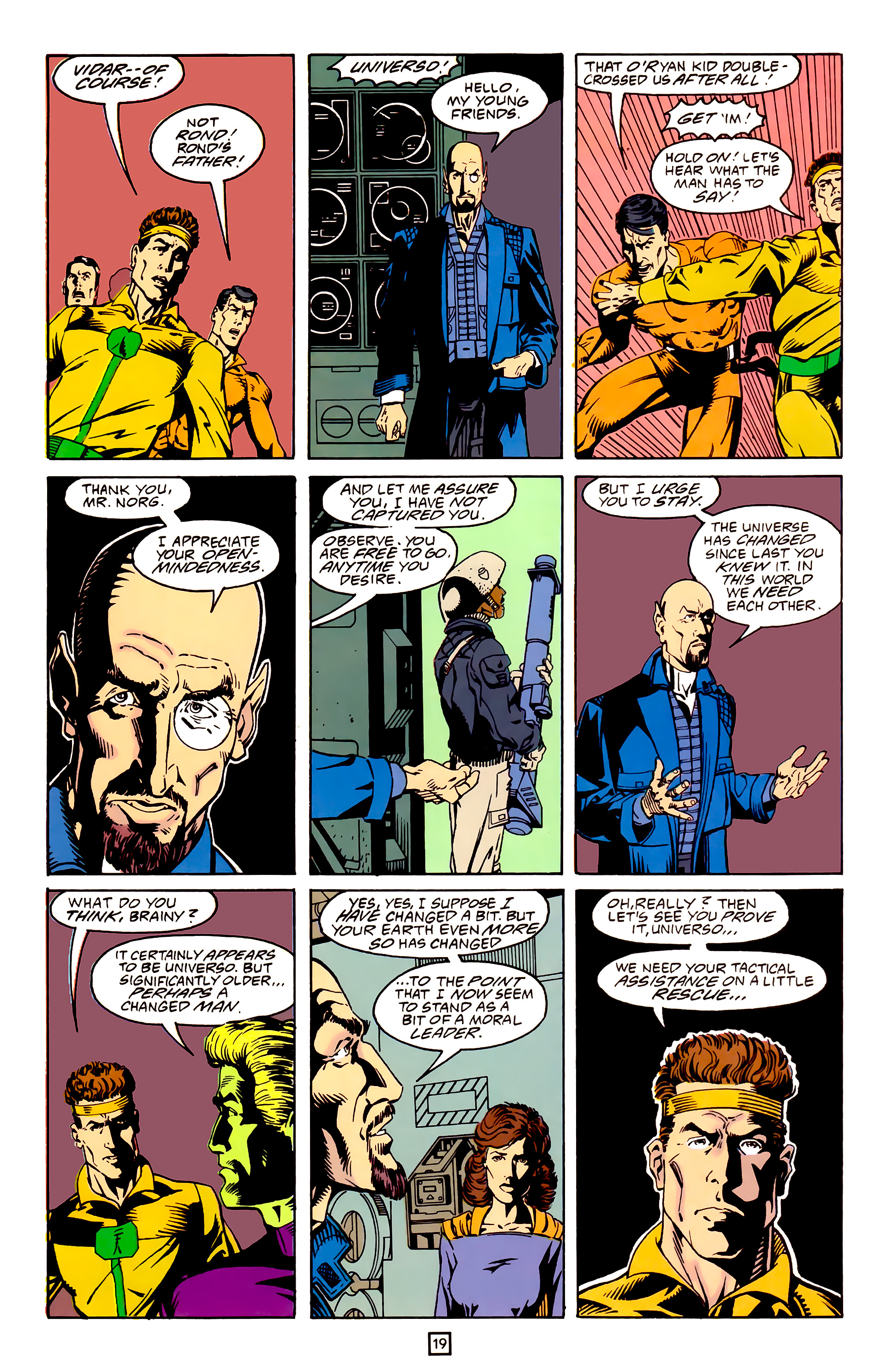 Legion of Super-Heroes (1989) 25 Page 19