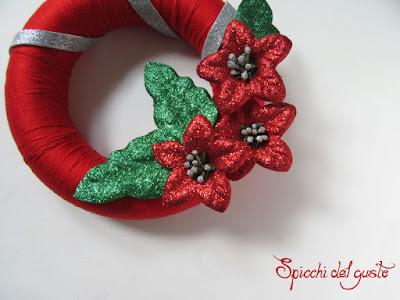come realizzare ghirlanda natalizia in gomma crepla