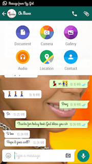 HOW TO CHANGE WALLPAPER AND SET PERSONAL INFO ON WHATSAPP