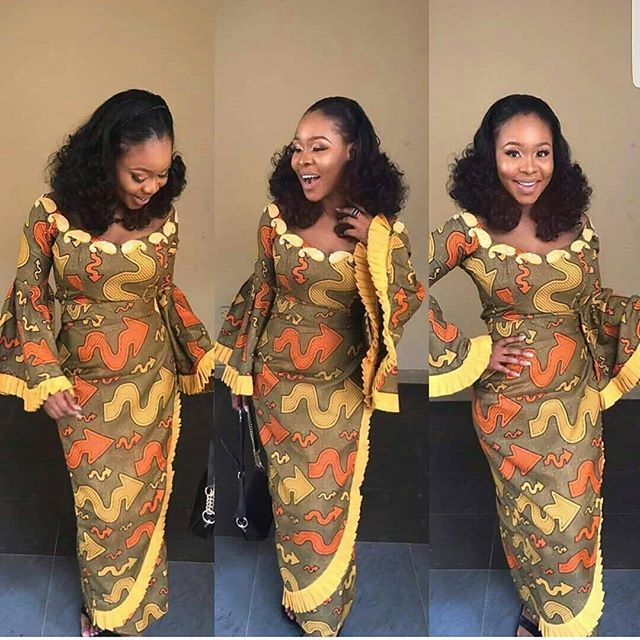 2018 Latest Ankara Designs For Charming Ladies To Slay