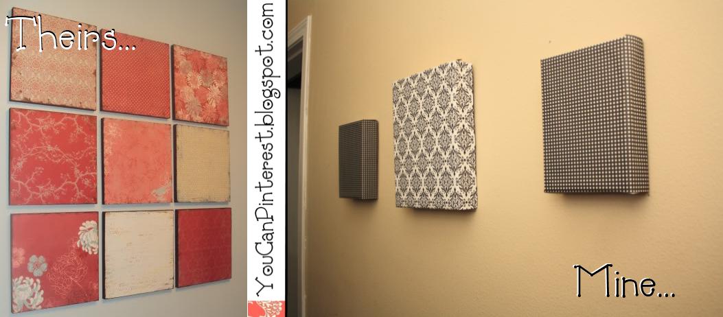 You Can Pinterest: DIY Decorative Wall Art