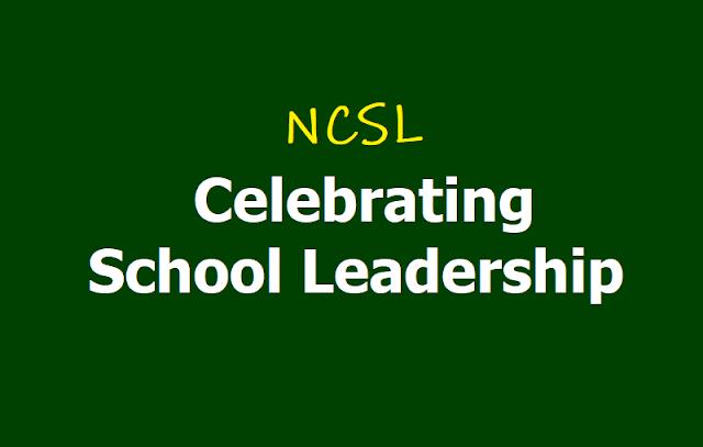 NCSL Celebrating School Leadership (CSL)