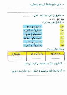 17 - كراس العطلة عربية سنة ثالثة