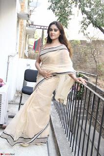 Sony Charishta in Brown saree Cute Beauty   IMG 3581 1600x1067.JPG