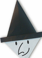 paper witch origami