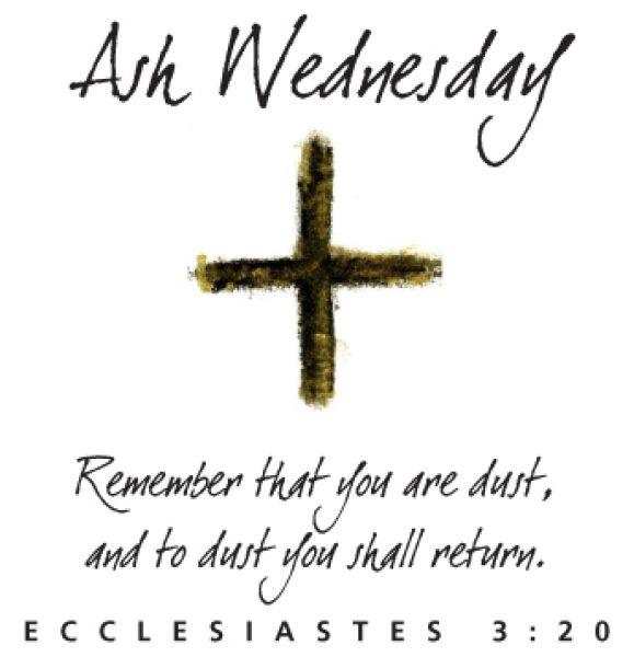 cruce tectum ash wednesday