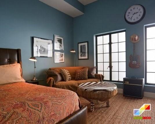 81 570x428 50 enlightening bedroom decorating ideas for men 42