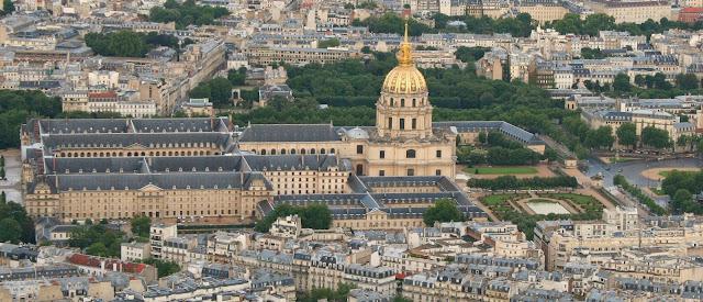 O Museu des Invalides em Paris