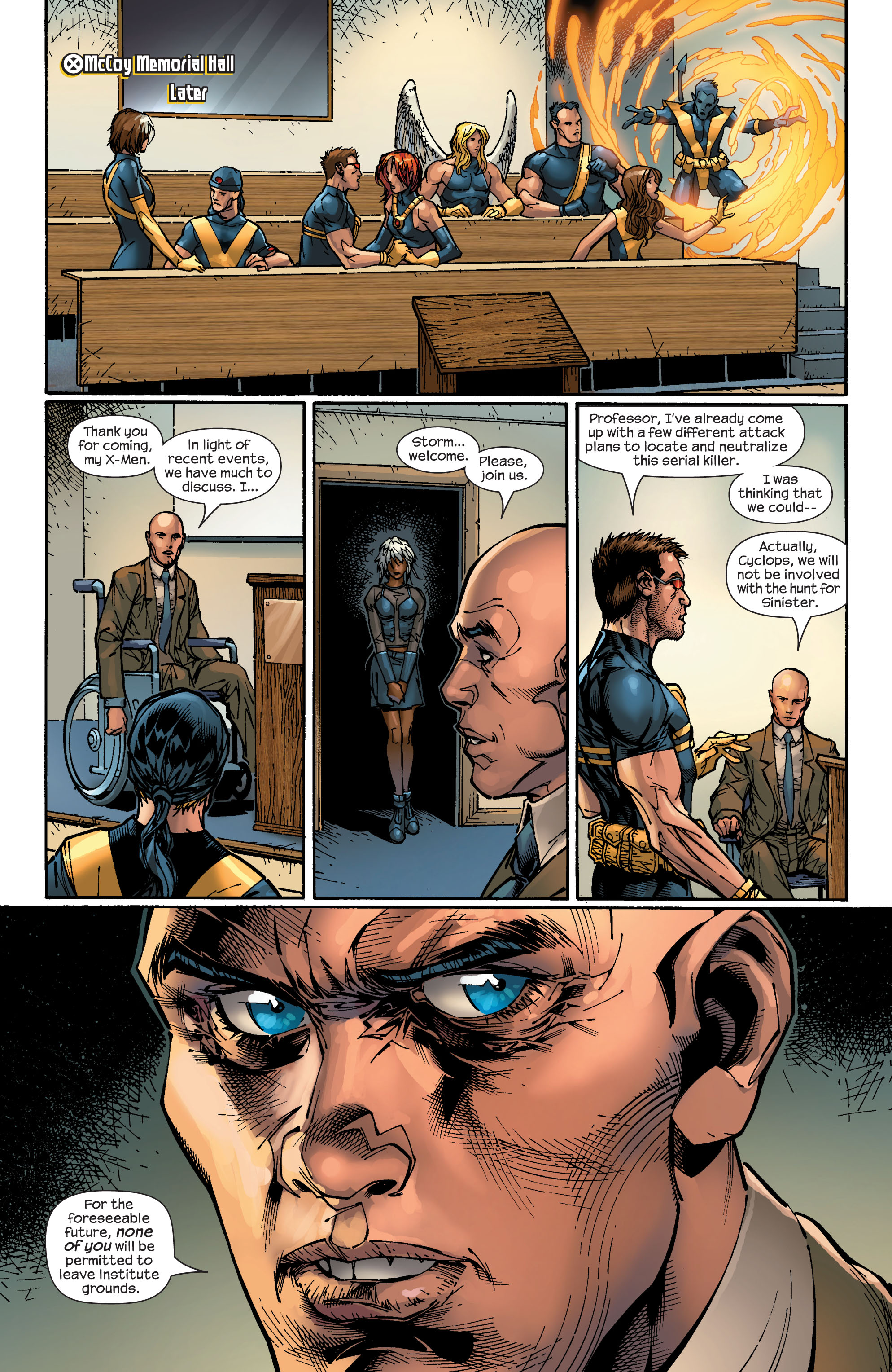 Read online Ultimate X-Men comic -  Issue #47 - 20