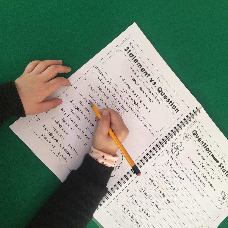 Tiny Teaching Shack: First Grade Common Core Language Arts