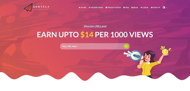 Share short link earn money upto $14 per 1000 views