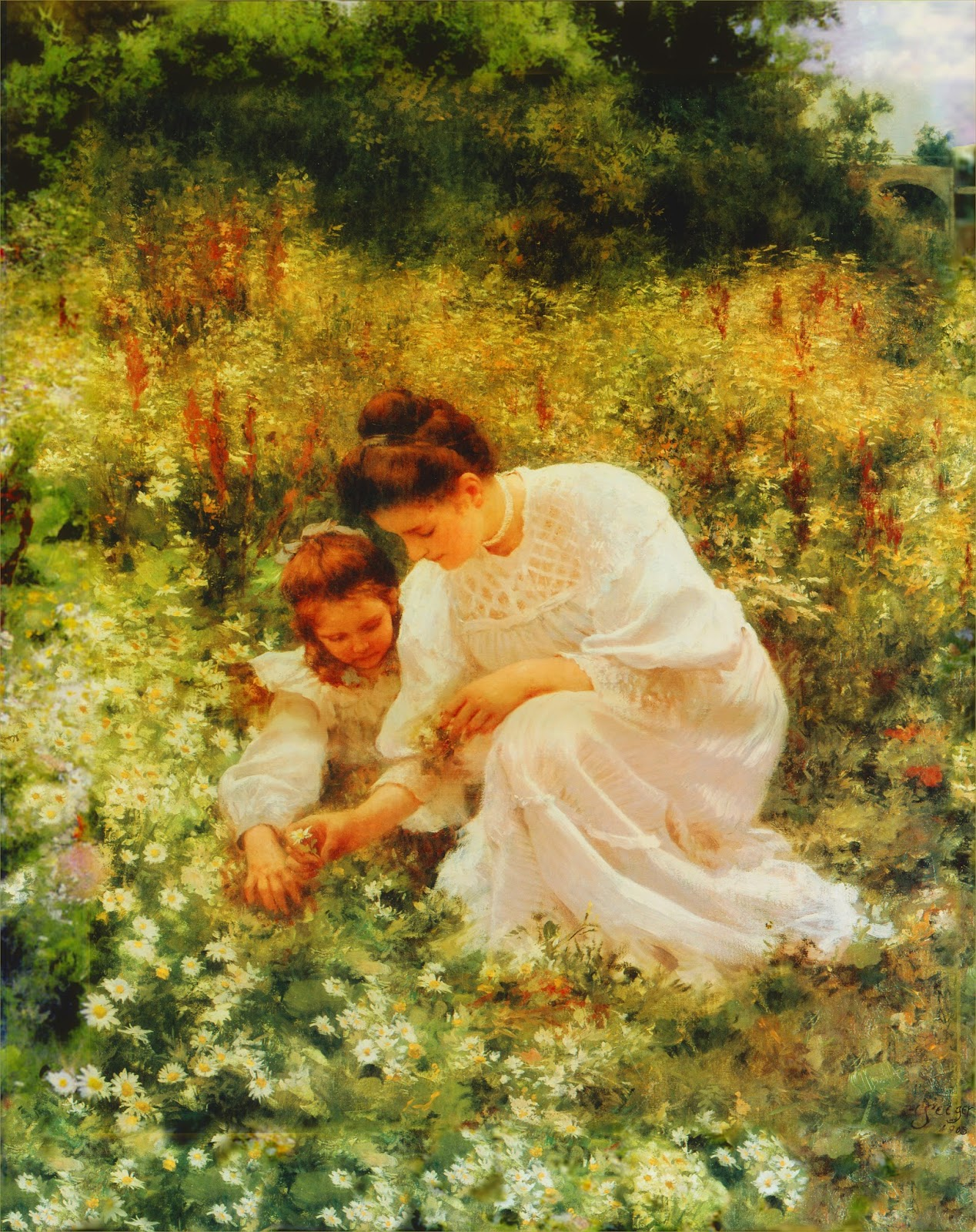 Field garden public domain vintage poem in daisy days by mary below is a poem called in daisy days written by mary elizabeth blake mrs blakes admirers included theodore izmirmasajfo