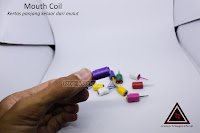 Jual alat sulap mouth coil lokal