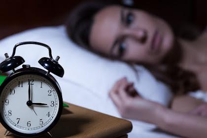 Tips Jitu Terhindar dari Insomnia Akut