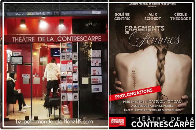 pièce de théâtre Fragments de femmes, Théâtre Contrescarpe