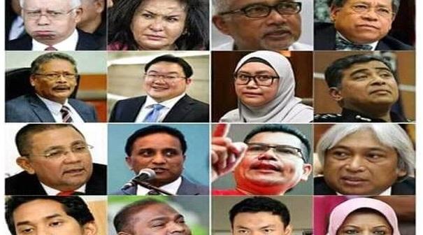Mari Kita Tengok Siapa Pilihan Netizen.Pilih 5 Daripada Foto-Foto Berikut Untuk Menjadi Individu Terawal Untuk Disiasat Oleh Pihak Berkuasa….