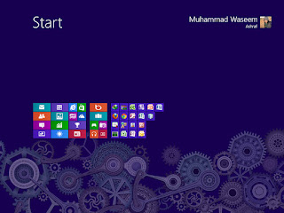 Windows 8 start menu